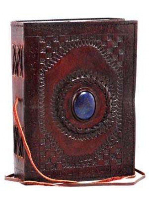 Gods Eye 7 Inch Leather Journal at Gothic Plus, Gothic Clothing, Jewelry, Goth Shoes & Boots & Home Decor