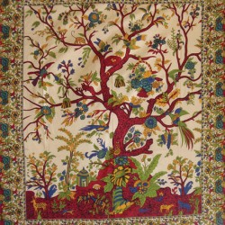 Tree of Life Single Tapestry Gothic Plus Gothic Clothing, Jewelry, Goth Shoes & Boots & Home Decor