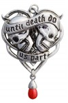 Until Death Gothic Lovers Necklace
