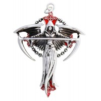 Angel of Destiny Gothic Necklace by Anne Stokes