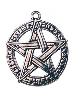 Runestar Pentagram Necklace Gothic Plus Gothic Clothing, Jewelry, Goth Shoes & Boots & Home Decor
