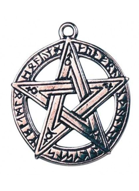 Runestar Pentagram Necklace at Gothic Plus, Gothic Clothing, Jewelry, Goth Shoes & Boots & Home Decor