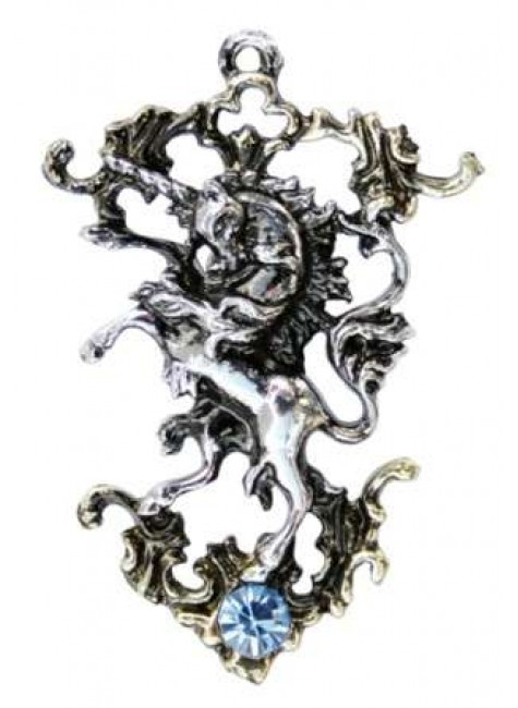 The Last Unicorn Necklace at Gothic Plus, Gothic Clothing, Jewelry, Goth Shoes & Boots & Home Decor