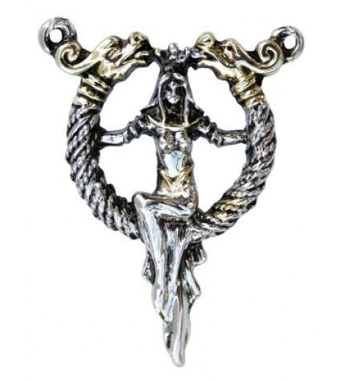 Queen Boudicca Torc Necklace for Protection