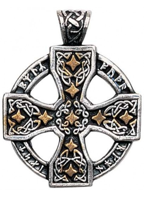 Runic Celtic Cross Pewter Pendant at Gothic Plus, Gothic Clothing, Jewelry, Goth Shoes & Boots & Home Decor