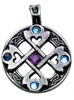 Celtic Cross Heart Pendant Gothic Plus Gothic Clothing, Jewelry, Goth Shoes & Boots & Home Decor