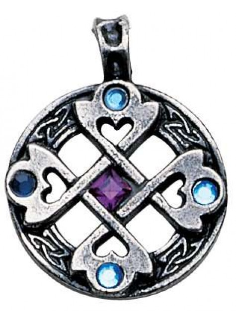 Celtic Cross Heart Pendant at Gothic Plus, Gothic Clothing, Jewelry, Goth Shoes & Boots & Home Decor