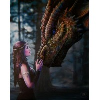 Once Upon a Time Canvas Print by Anne Stokes