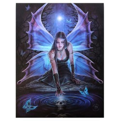 Immortal Flight Canvas Art Print Gothic Plus Gothic Clothing, Jewelry, Goth Shoes & Boots & Home Decor