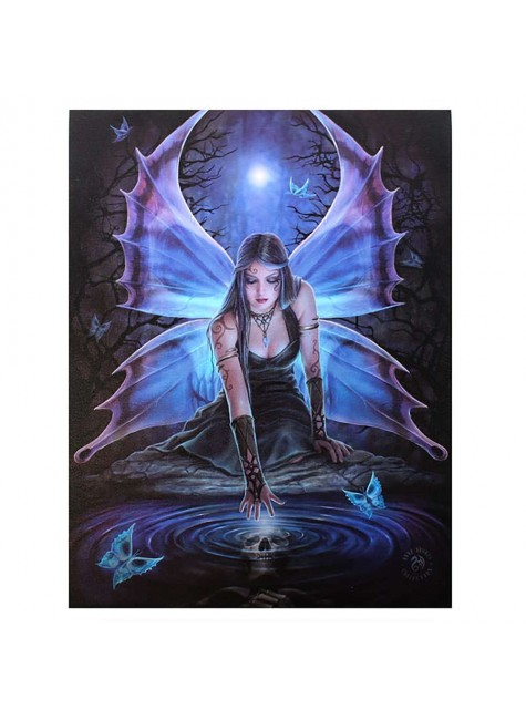 Immortal Flight Canvas Art Print at Gothic Plus, Gothic Clothing, Jewelry, Goth Shoes & Boots & Home Decor