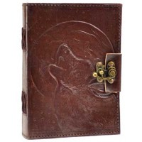 Wolf Moon Leather 7 Inch Journal with Latch