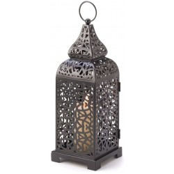 Moroccan Tower Candle Lantern Gothic Plus Gothic Clothing, Jewelry, Goth Shoes & Boots & Home Decor