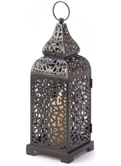 Moroccan Tower Candle Lantern at Gothic Plus, Gothic Clothing, Jewelry, Goth Shoes & Boots & Home Decor