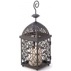 Moroccan Birdcage Candle Lantern Gothic Plus Gothic Clothing, Jewelry, Goth Shoes & Boots & Home Decor