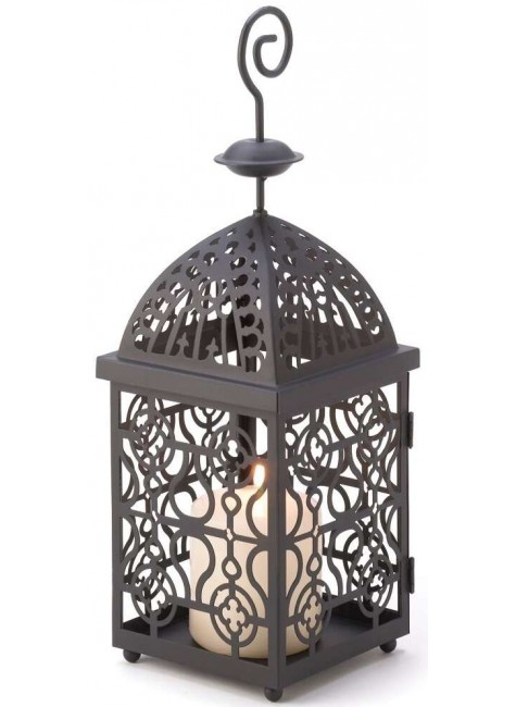 Moroccan Birdcage Candle Lantern at Gothic Plus, Gothic Clothing, Jewelry, Goth Shoes & Boots & Home Decor